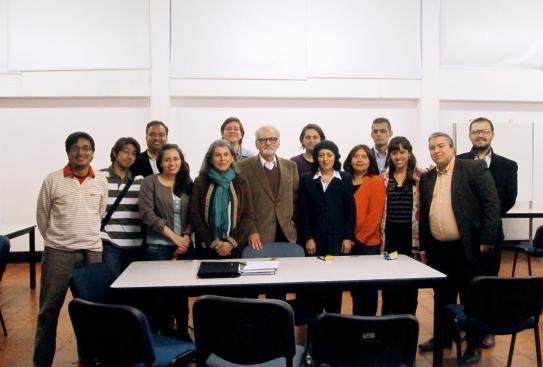 Grupo Artes, Crítica e Interpretación 2013