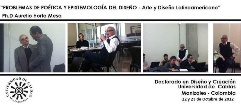 Aurelio Horta. Doctorado UCaldas 2012