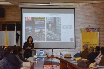 Luz Teresa Gómez - Presentación de la investigación doctoral.