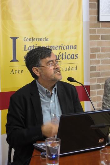 Dr. Jorge Ramírez Nieto. Coordinador del Doctorado en Arte y Arquitectura.